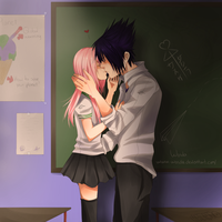 In the classroom by Wosda