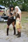 Xena and Khaleesi by catcrayola