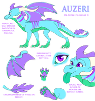 auzeri's reference sheet by aacrell