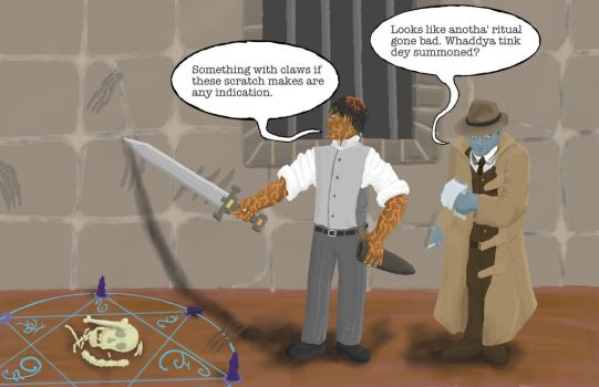 DnD Detectives by W74