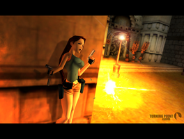 Tomb Raider Chronicles - Streets of Rome by FearEffectInferno