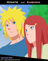 Minato and Kushina by seba1496
