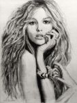 Pencil Drawing: Jeweled by shuckaby