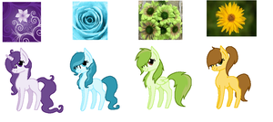 Flower Picture Adopts by Rainbow-ninja-adopts