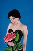 flower pin up IV by Voivodess-Stock