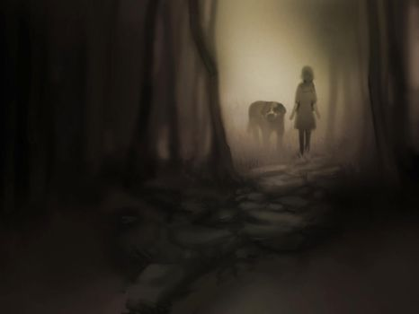 Into the forest by MaGLIL