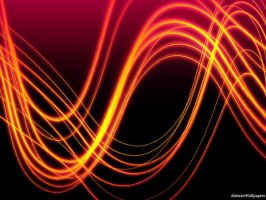 Fire Swirl Abstract Wallpaper by AbstractWallpapers1