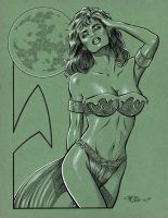 Orion Slave Girl by 93Cobra