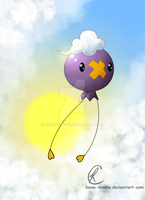 Drifloon adrift by Know-Kname