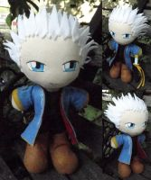 Commission, Plushie Vergil Sparda by ThePlushieLady