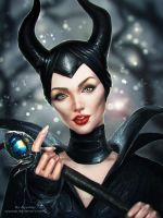 Maleficent by AyyaSap