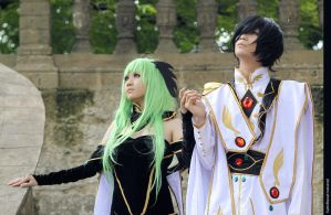 CC and Lelouch [Code Geass] by jiocosplay
