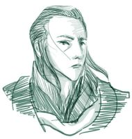 Loki sketch by infiniteviking