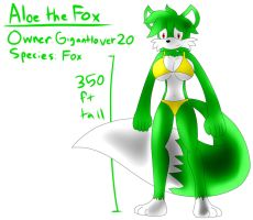 Aloe the Fox (Revived) by TipsyRa1d3n