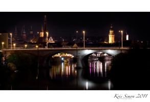 At night all bridges are grey by KrisSimon