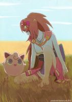 Oichi and Jigglypuff by jaimito