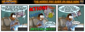 On the Grind/Saturday Morning Cartoons by geogant