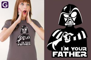 Your Father T Shirt by ChamaCamisetas