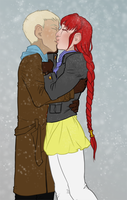 Winter Kisses by Zhentee