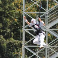 Storm Shadow on a zip-line by Cobra1stLegion