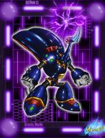 MMX3 - Gravity Beetle by Shinobi-Gambu