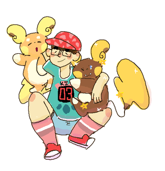 ME AND MY 'CHUS by diggyko