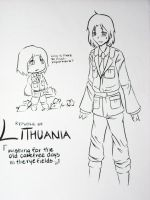 APH: Lithuania Brushart by murderaddict