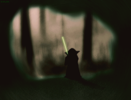 Yoda's Nightmare by HugoVlad