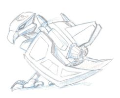 DAILY TF Gen1 Laserbeak by KrisSmithDW