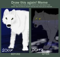 Before And After Meme by icewolf289