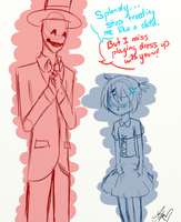 [OC] Lets play dress up by Chaotic-Senpai