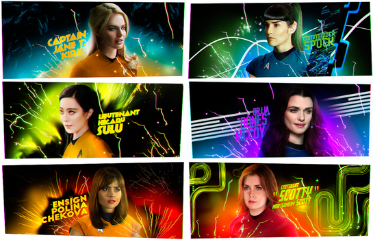 fem!Star Trek by fox-porn