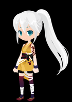 Avatar the last airbender oc Aria by Cflandon15