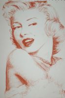 Marilyn monroe by AnneMarchalot