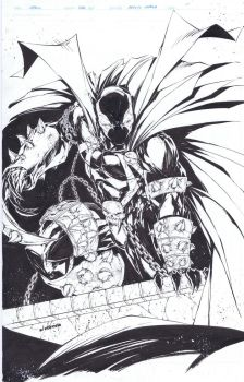 Spawn commission by adelsocorona