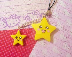 Happy Stars Charm by pinkDudu