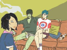 gorillaz family time by theSSjulia