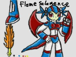 Flame Salamence Reference Sheet by SurgeCraft