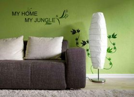 My Home Is My Jungle by m3t4lh34d2666