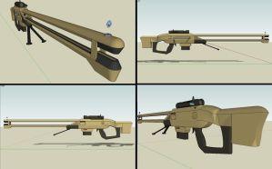 C-86 plasma rifle by DrFrag