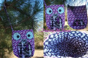 Honoka the Owl Purse by Aranov