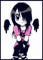 Emo Girl 2 by xxpunkedprincessxx