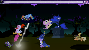 MLP Halloween Theme by sakatagintoki117