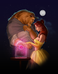 beauty and the beast by Diablera