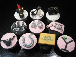 Sex And The City Cupcakes by Sliceofcake