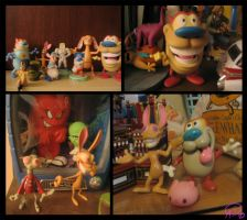 My Ren and Stimpy collection by GantzAistar