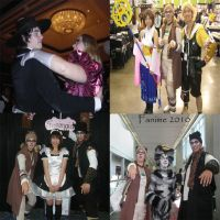 Fanime Friends Collage by ShellMinded