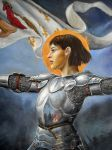 Joan of Arc detail by dashinvaine
