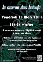 Flyer for a student party verso by etiark