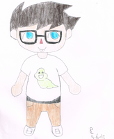 CrossingStuck John Egbert by TipToeDynamo